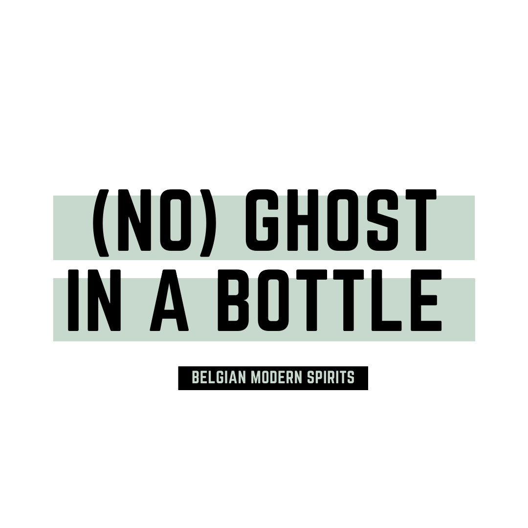 NO GHOST IN A BOTTLE logo